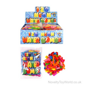 Large Bags of 120 Water Bombs - Bright Colours